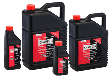 package view of oil filter by Champion